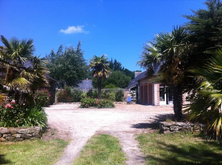 Location de vacances - Mas à Sainte-Marine - autre vue du parc