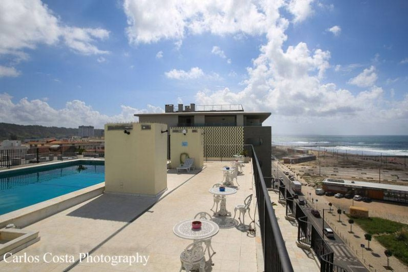 Location de vacances - Appartement à Costa da Caparica - Vue de la piscine