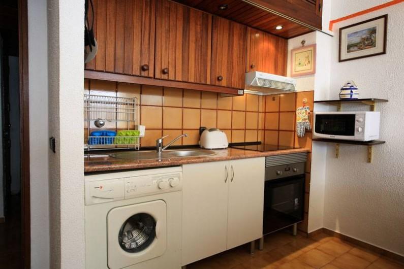Location de vacances - Appartement à Costa da Caparica - Cuisine