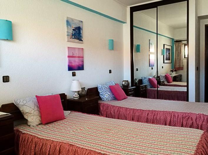 Location de vacances - Appartement à Costa da Caparica - Chambre