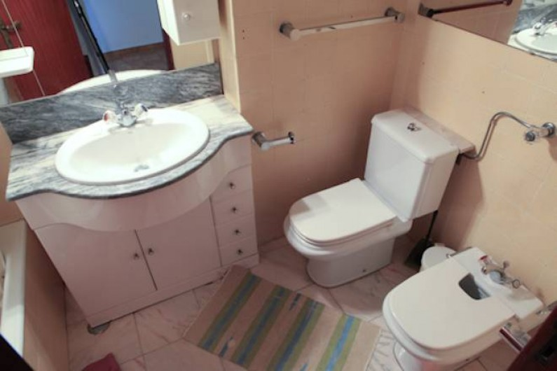 Location de vacances - Appartement à Costa da Caparica - Salle de bain