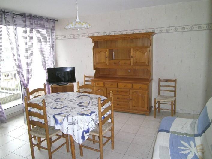 Location de vacances - Appartement à Malo-les-Bains - Séjour