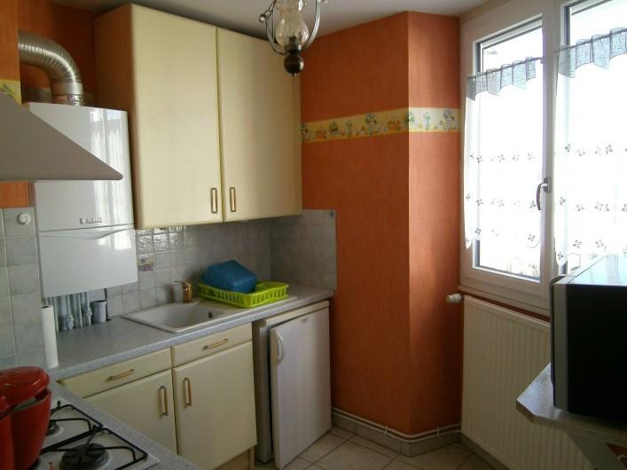 Location de vacances - Appartement à Malo-les-Bains - Cuisine