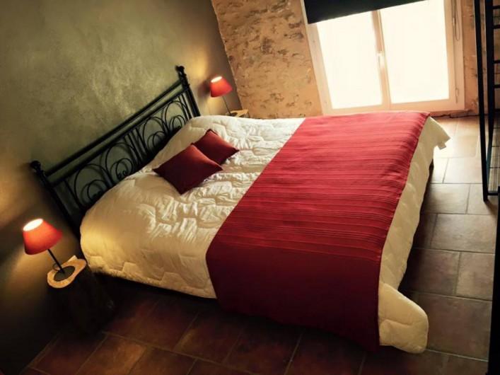 Location de vacances - Gîte à Malaucène - Chambre 2 personnes (étage)