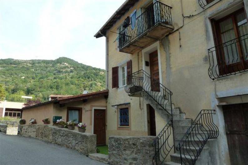 Location de vacances - Appartement à Lantosque
