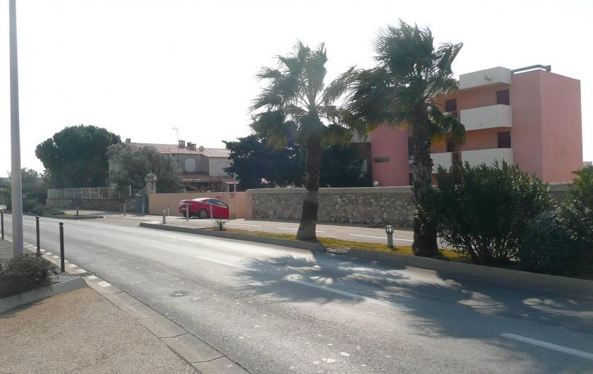 Location de vacances - Appartement à Sète - Accès haut de la résidence