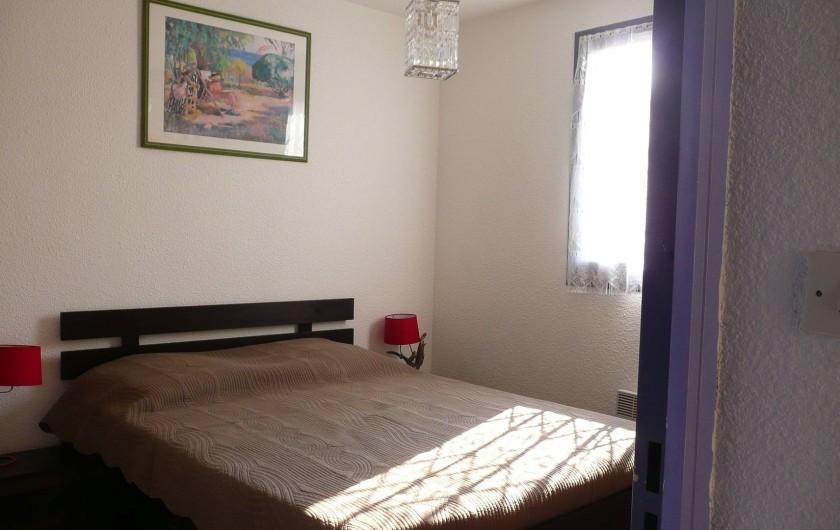 Location de vacances - Appartement à Sète - La chambre principale