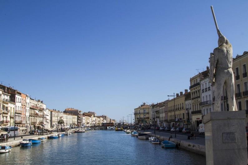 Location de vacances - Appartement à Sète - Les canaux de Sète issues de son histoire maritime