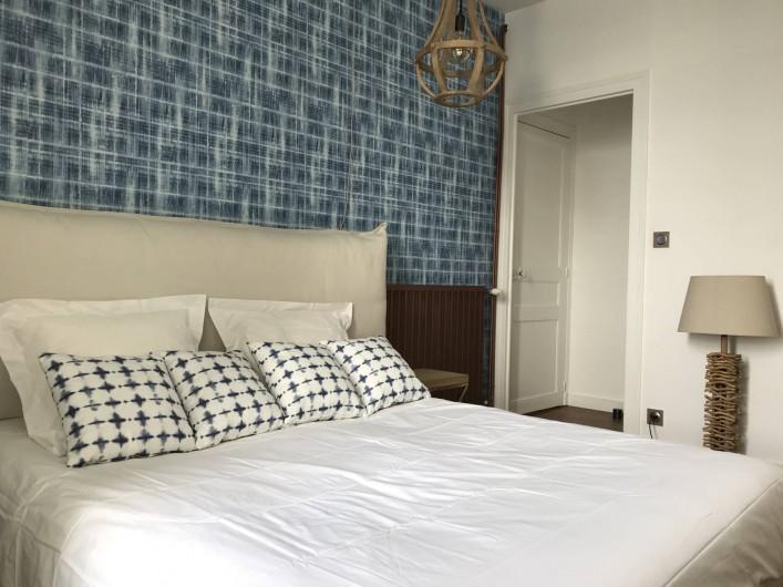 Location de vacances - Villa à Pornichet - 1 er étage, chambre face mer avec salle d'eau attenante