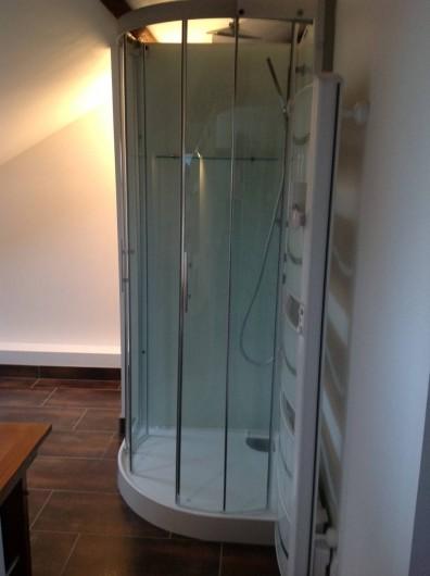 Location de vacances - Villa à Pornichet - Cabine de douche loft