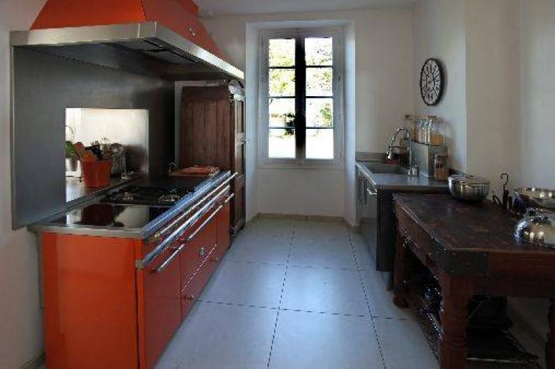 Location de vacances - Villa à Pornichet - Cuisine préparation et cuisson  des repas