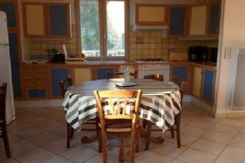 Location de vacances - Maison - Villa à Grenier-Montgon - coin salle à manger