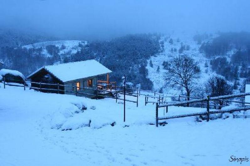 Location de vacances - Gîte à Le Pont-de-Montvert - Chalet Hiver