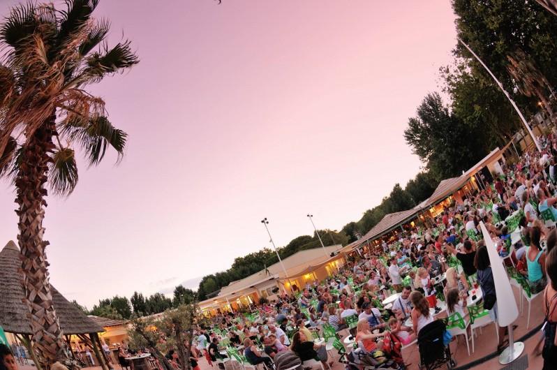 Location de vacances - Bungalow - Mobilhome à Vendres - Terrasse du bar