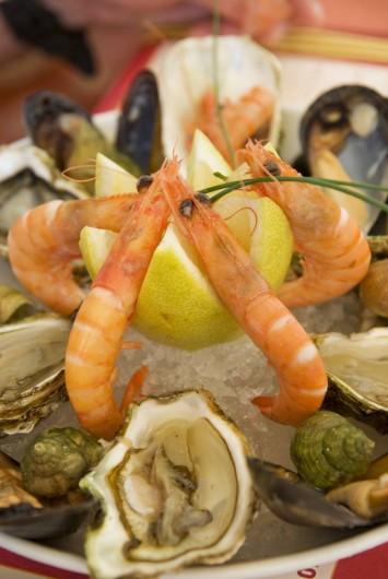 Location de vacances - Bungalow - Mobilhome à Vendres - Le restaurant