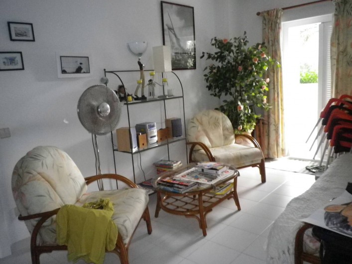 Location de vacances - Appartement à Dénia - Salon