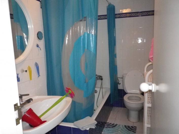 Location de vacances - Appartement à Dénia - Salle de bain