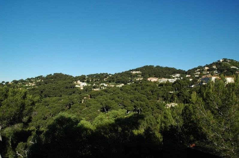 Location de vacances - Appartement à Hyères - Vue montagne