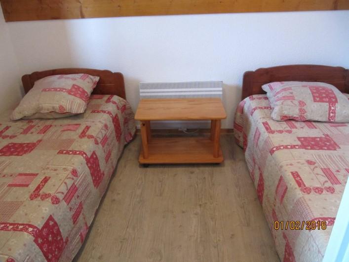 Location de vacances - Appartement à Saint-François-Longchamp - CHAMBRE 2 LIT DE 90