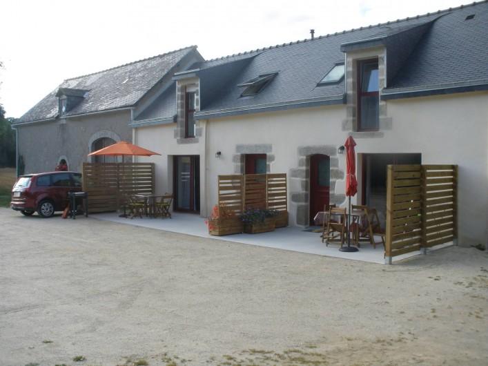 Location de vacances - Gîte à Clohars-Carnoët - facade