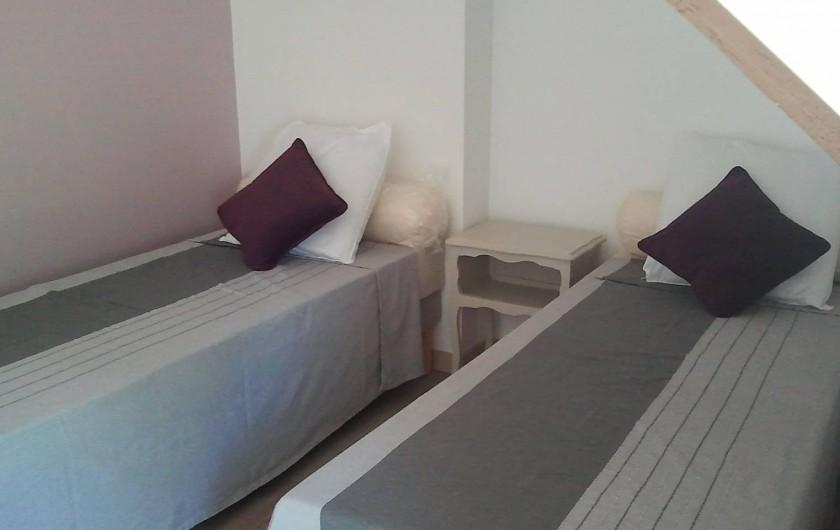 Location de vacances - Gîte à Clohars-Carnoët - chambre 2 rubis