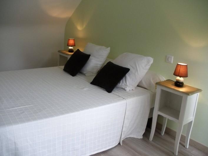 Location de vacances - Gîte à Clohars-Carnoët - chambre 1 jade