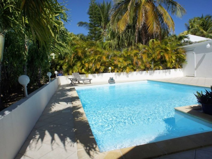 Location de vacances - Villa à Saint-François - Piscine privée de la villa