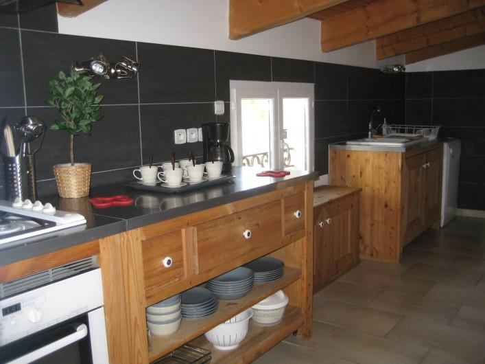 Location de vacances - Appartement à Courthézon - cuisine