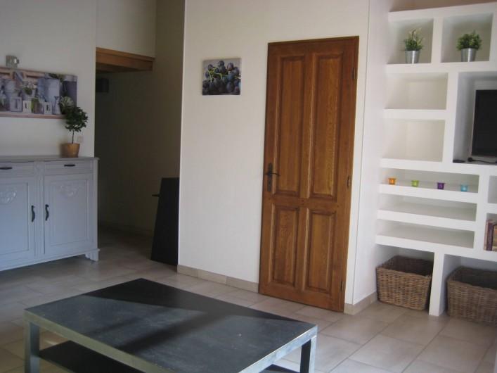 Location de vacances - Appartement à Courthézon - salon