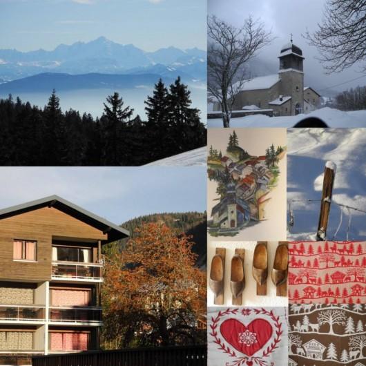 Location de vacances - Appartement à Mijoux - l ambiance