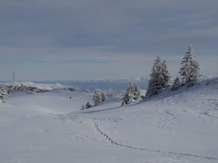 Location de vacances - Appartement à Mijoux - les alpes depuis la dole