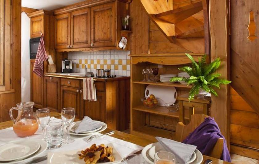 Location de vacances - Appartement à Val Claret - Cuisine
