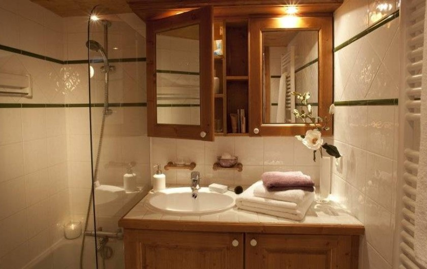 Location de vacances - Appartement à Val Claret - Salle de douche