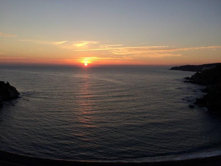 Location de vacances - Appartement à Banyuls-sur-Mer - Lever de soleil