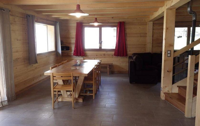 Location de vacances - Chalet à La Giettaz