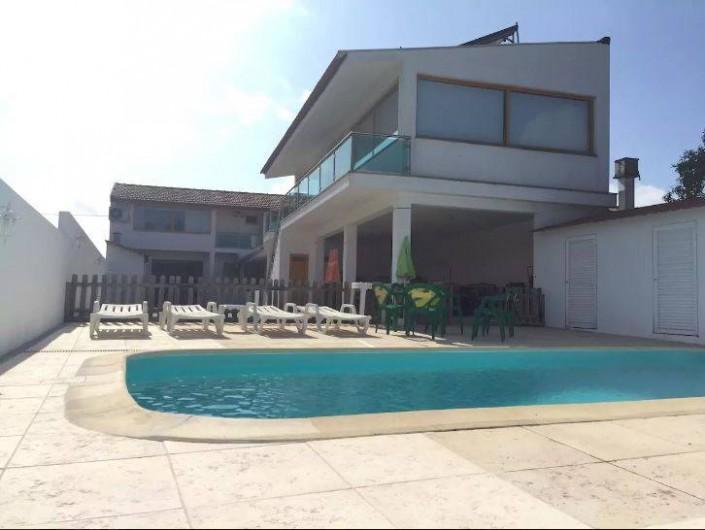 Location de vacances - Villa à Santo André - Extérieur, piscine chauffée privée