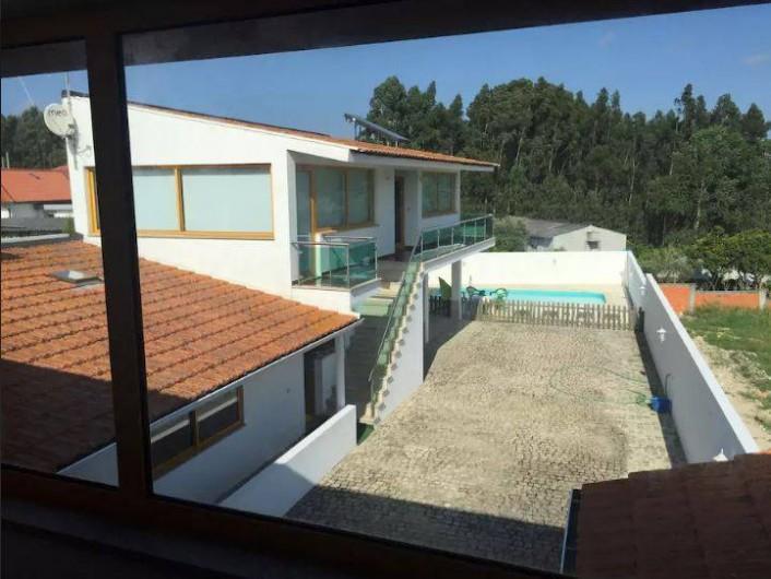 Location de vacances - Villa à Santo André - Vue de la suite parentale