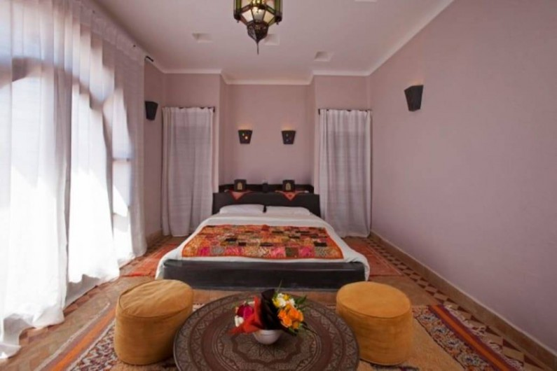 Location de vacances - Villa à Essaouira - Chambre supérieure 1