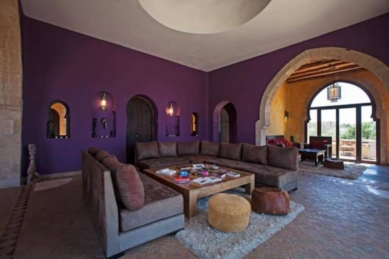 Location de vacances - Villa à Essaouira - Salon