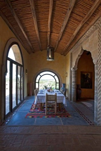 "Location de vacances - Villa à Essaouira - Salon ""musique"""