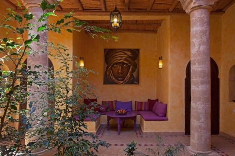 Location de vacances - Villa à Essaouira - Patio
