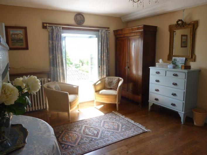 Location de vacances - Maison - Villa à Saint-Étienne-des-Oullières - Chambre bleu - air-conditionné reversible