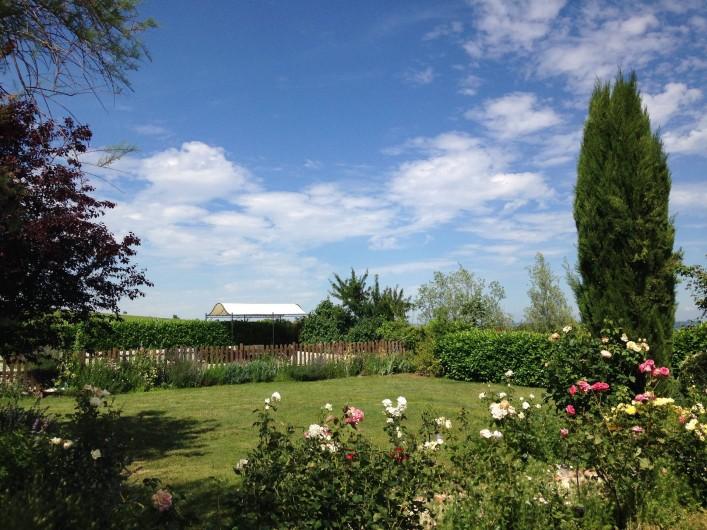 Location de vacances - Maison - Villa à Saint-Étienne-des-Oullières - Rose garden