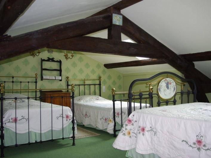Location de vacances - Maison - Villa à Saint-Étienne-des-Oullières - Chambre verte