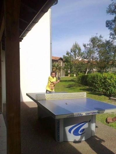 Location de vacances - Chalet à Ondres - Ping-pong