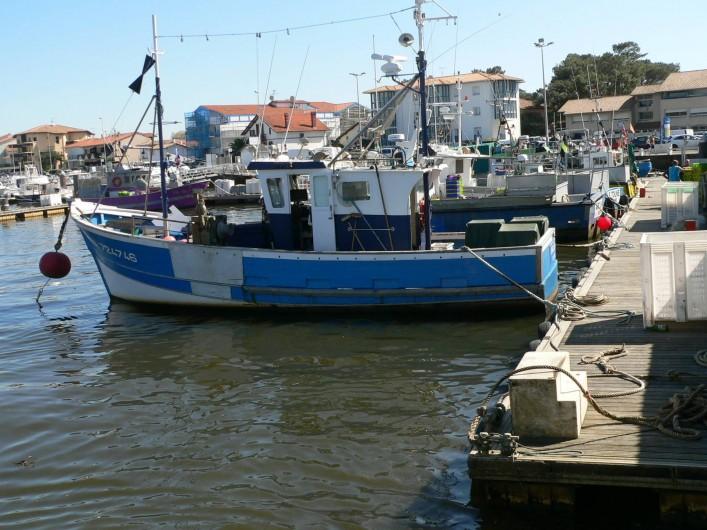 Location de vacances - Chalet à Ondres - Port de pêche de Capbreton. Vente direct sur le port tous les jours vers 16h