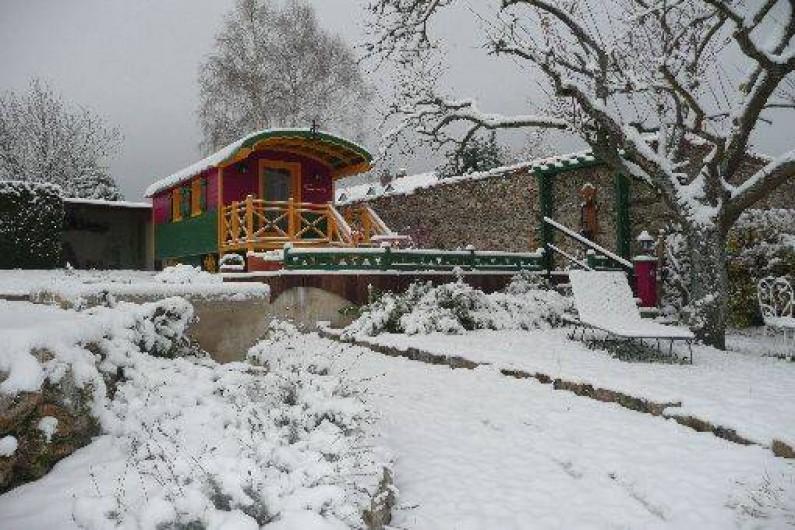 Location de vacances - Roulotte à Romery