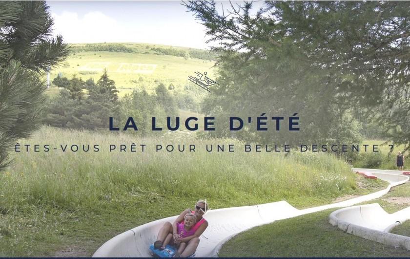 Location de vacances - Appartement à Les Deux Alpes - lugé d'été