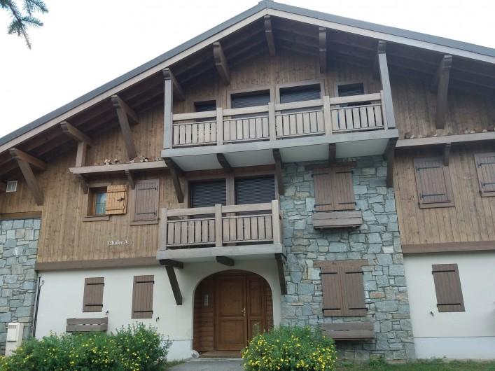 Location de vacances - Appartement à Les Deux Alpes - chalet, en été