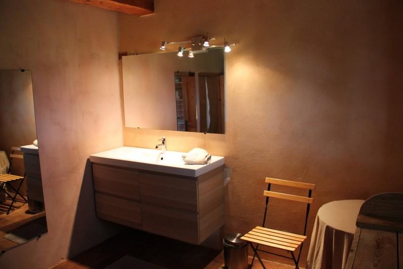 Location de vacances - Maison - Villa à Saint-André-d'Olérargues - Salle de bains
